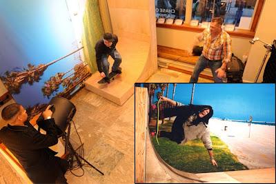 Interactive Photobooth Backdrop