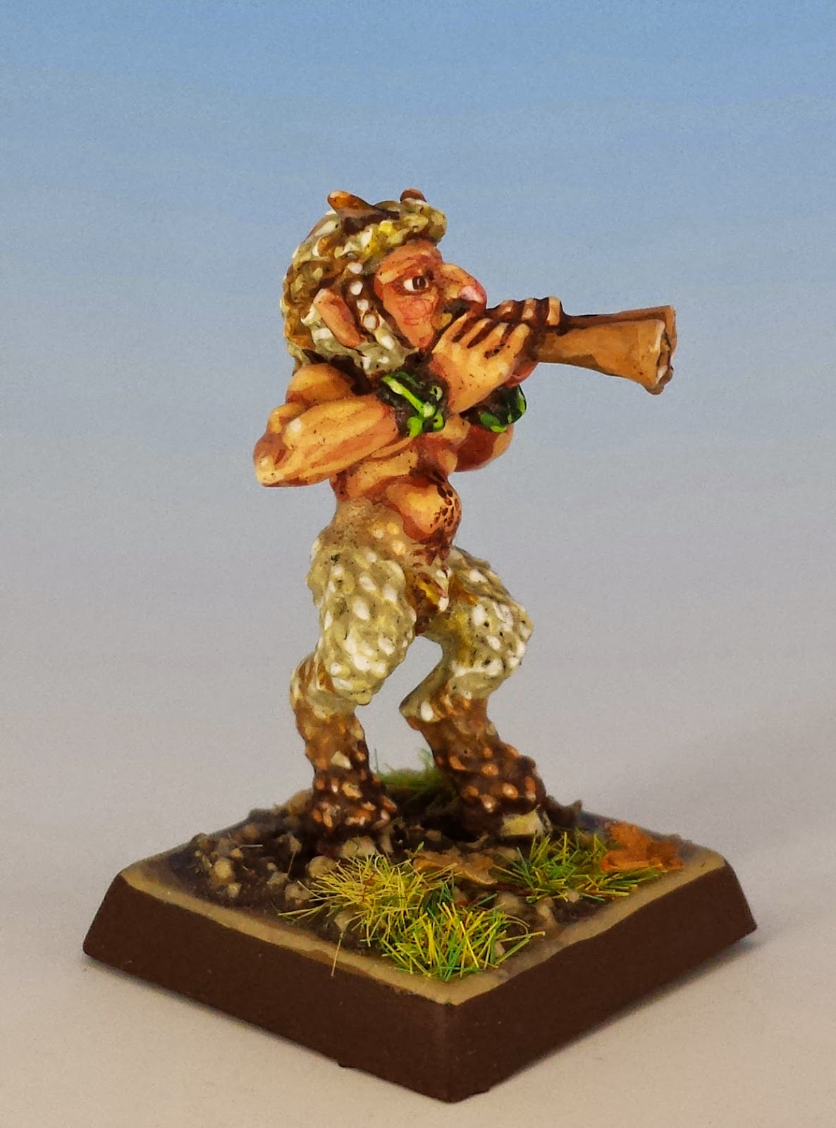 Talisman Satyr, Citadel Miniatures (1986, sculpted by Aly Morrison, painted by M. Sullivan)