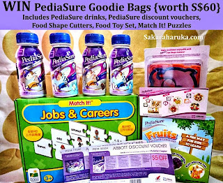 PediaSure Goodie Bags Giveaway {ends Tue 26/5}