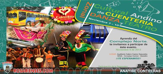 Cultural Andino de Cuentería, Danza y Teatro | SENA, Colombia