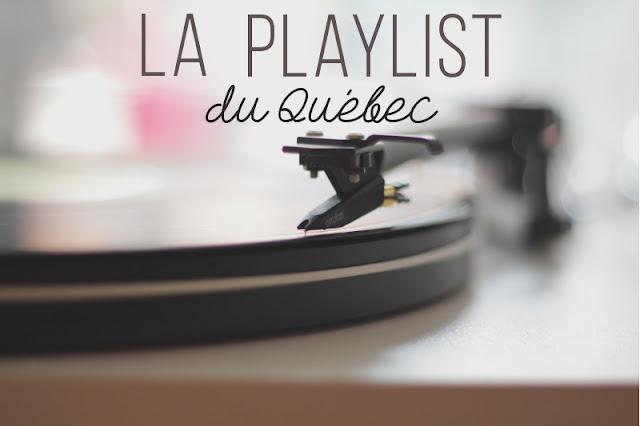La playlist du Québec, czyli co mi w duszy gra