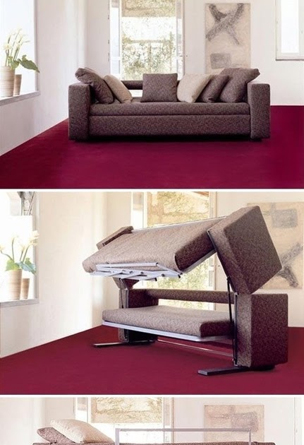 Honey I Shrunk The House A Couch That Turns Into A Bunk Bed