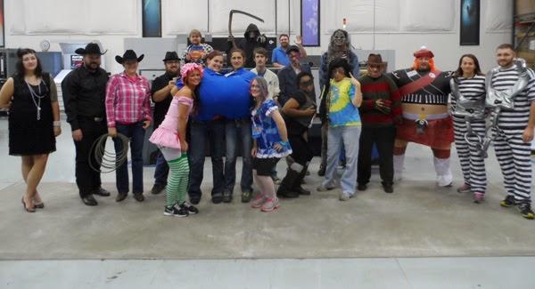GotPrint employees in halloween costumes 2013