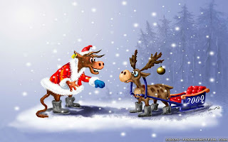 Free Download Wicked Funny Christmas Wallpaper