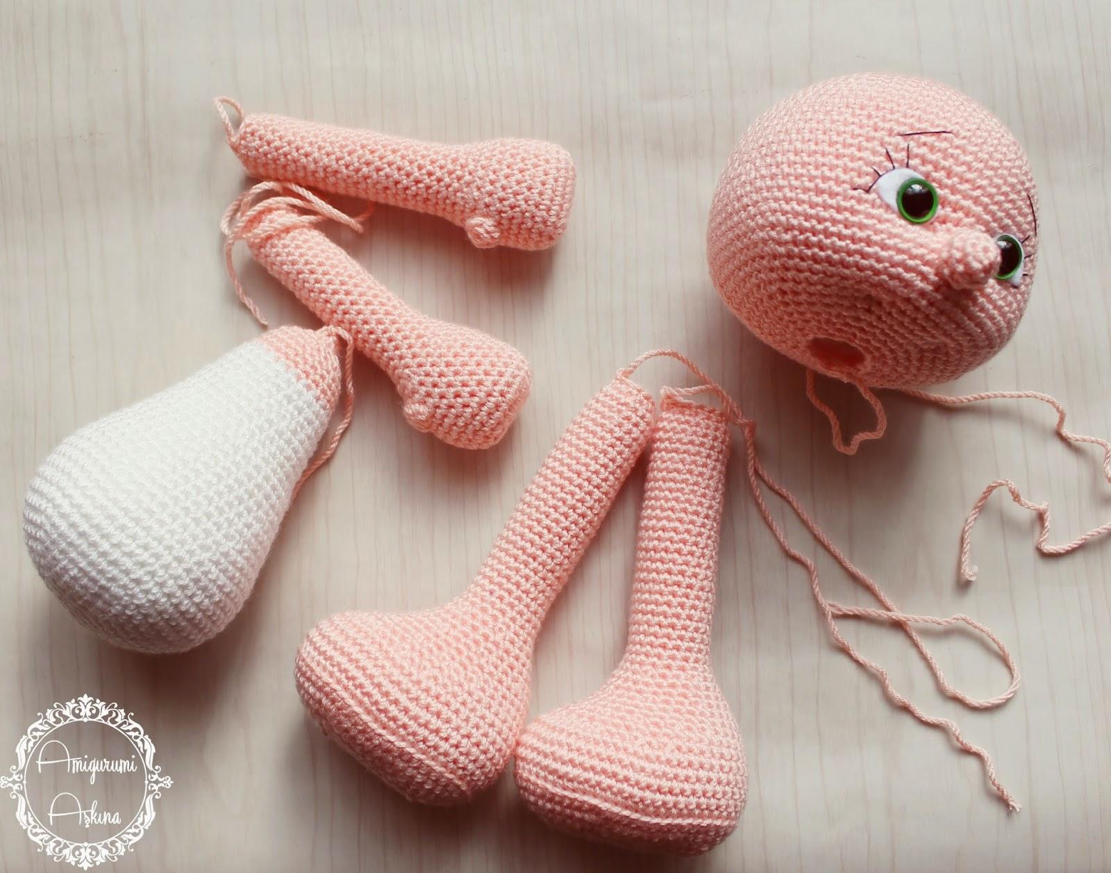 Amigurumi : Crochet amigurumi petits pixels