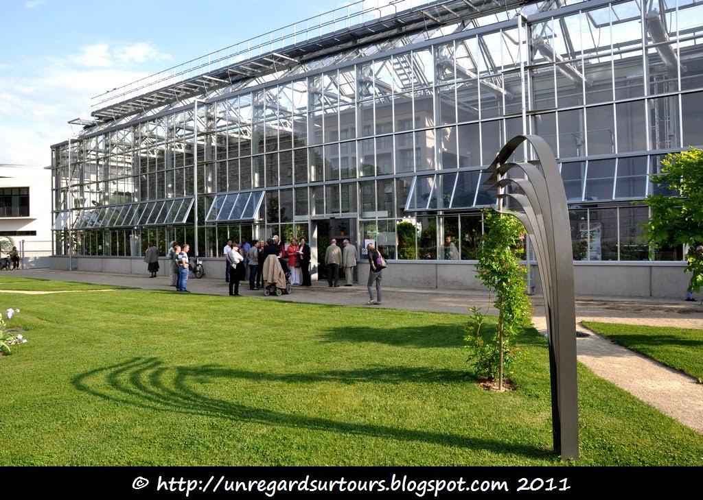 Un regard sur tours exposition edouard andr jardin for Jardin botanique tours