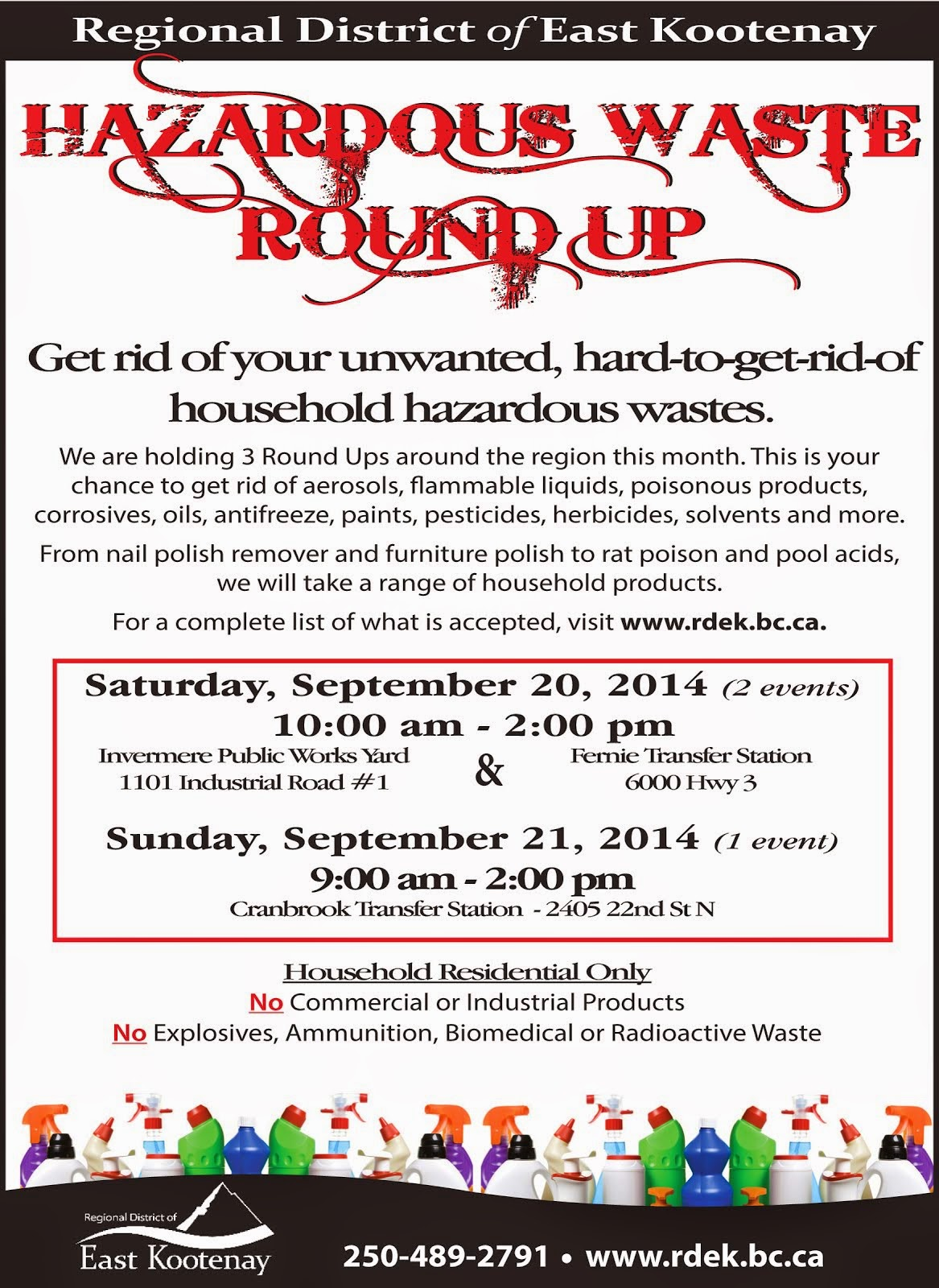 Hazardous Waste Round Up