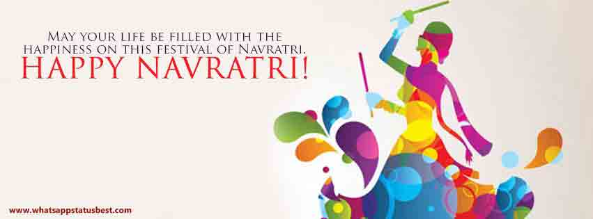 Happy navratri wishes navratri sms message happy navratri fb cover 1 m4hsunfo