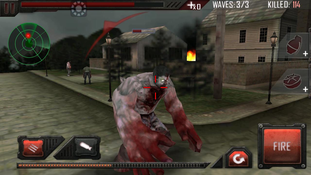 Zombie Road Kill 3D v1.0.4 Apk + Mod