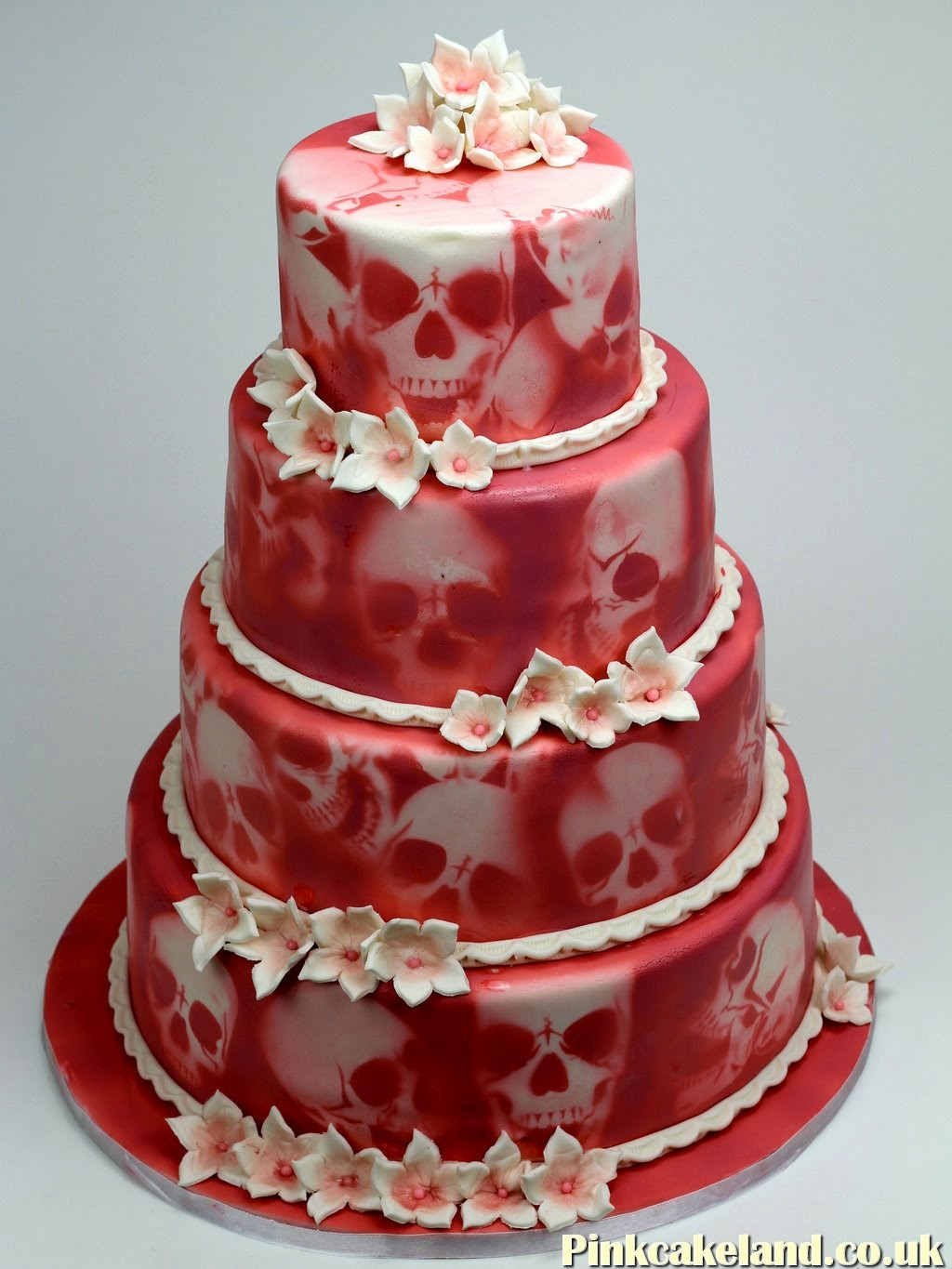 Pink Wedding Cake, London