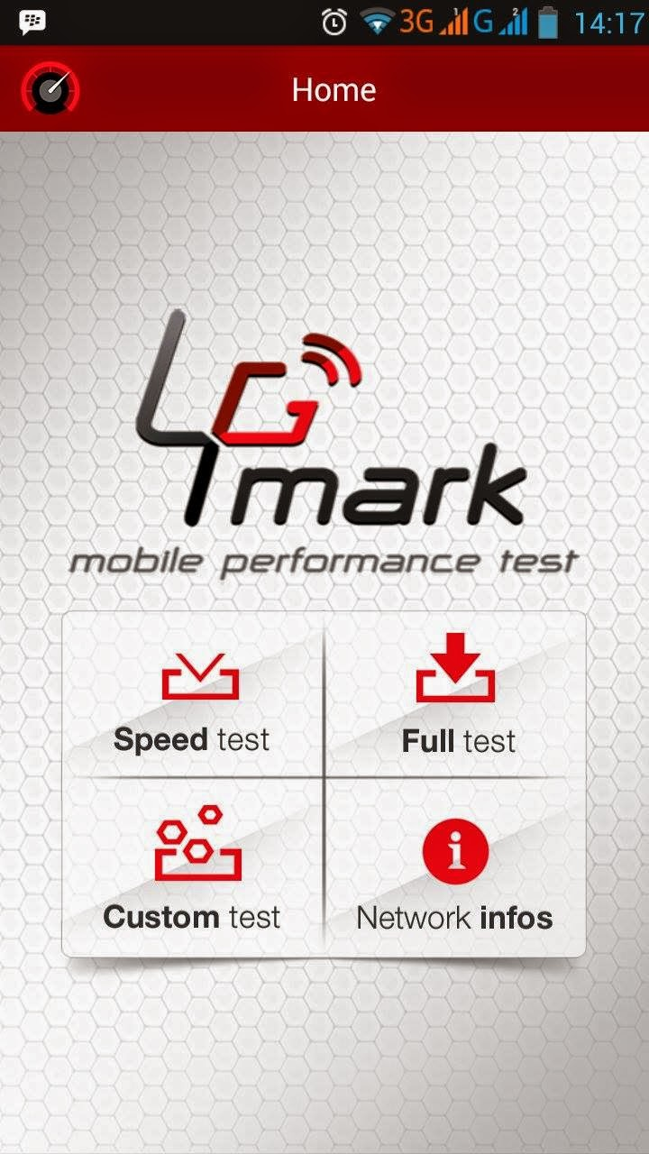 Aplikasi 4G Mark, test layanan 4G