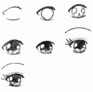 Drawing 101 How To Draw Eyes on mango mania