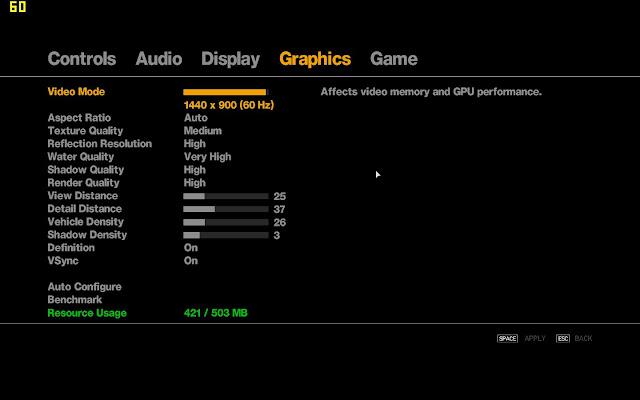 cara setting grafik GTA IV