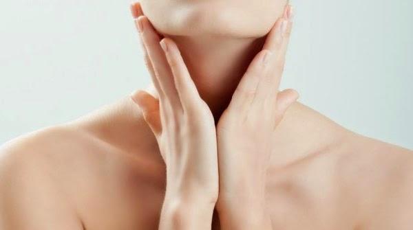 Cara memutihkan kulit leher