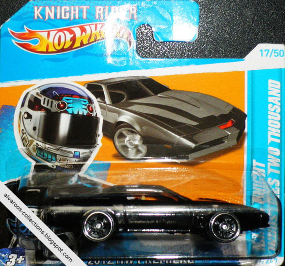 HotWheels collection 2012 - K.I.T.T. Knight Industries Two Thousand