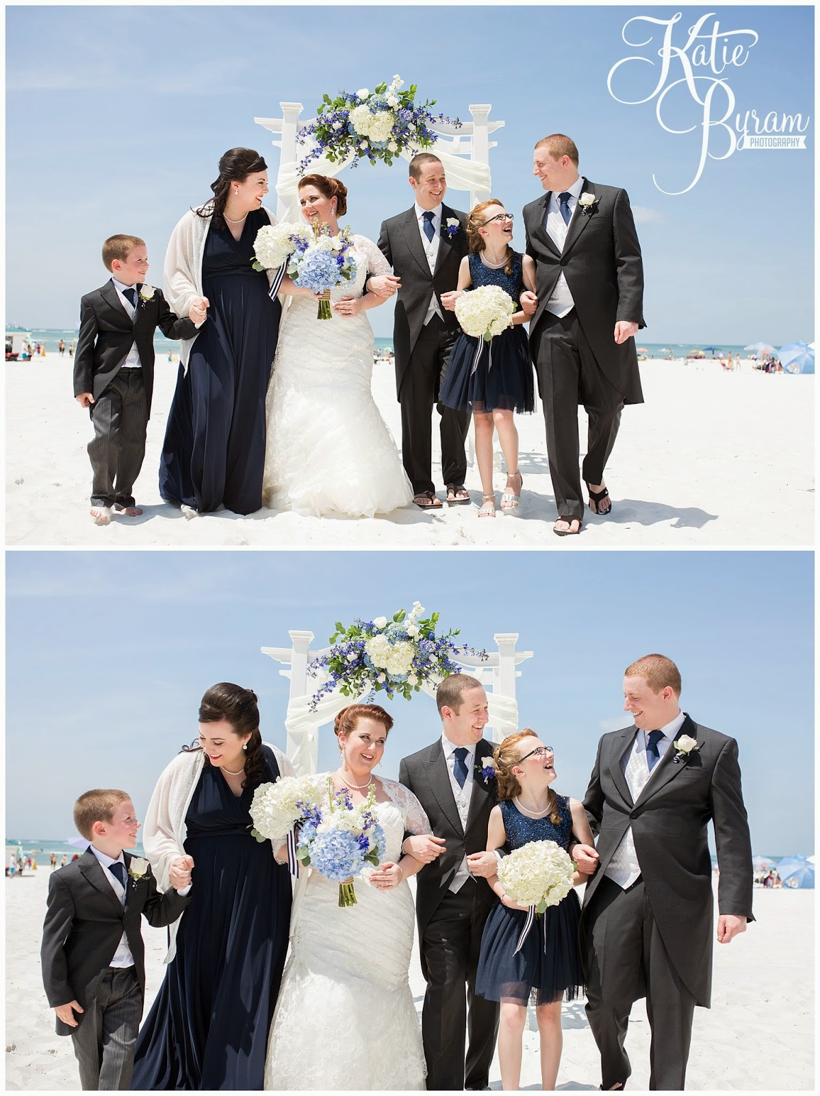 destination wedding, clearwater beach wedding, hilton clearwater beach wedding, katie byram photography, florida wedding