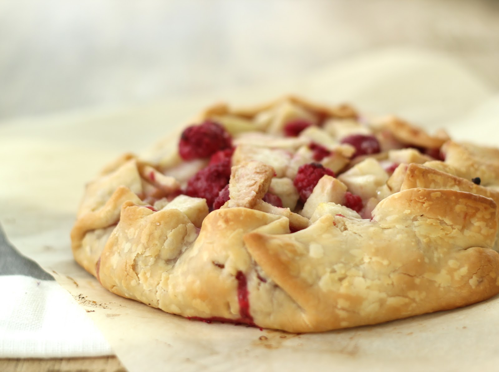 Jenny Steffens Hobick: Raspberry & Pear Crostada