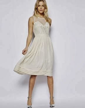 Asos Lace Midi Dress - Affordable Short Wedding DressesAsos Lace Asos Lace Midi Dress - Affordable Short Wedding Dresses - Age Old Youngster