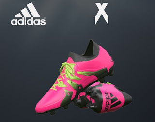 PES 2016 Shock Pink Adidas X 2016 Boots by oxarapesedit