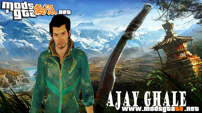 SA - Skin Ajay Ghale do Far Cry 4