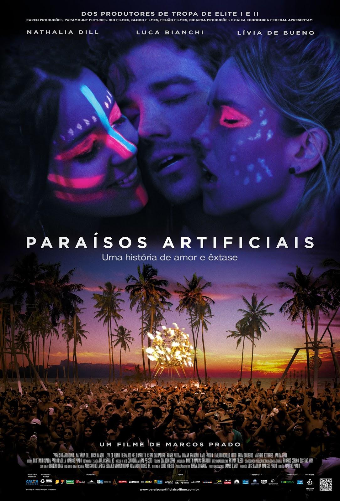 Assistir Filme Online Paraísos Artificiais Dublado