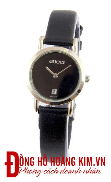 Đồng hồđeo tay nữ dây da giá rẻ Gucci
