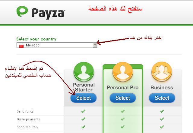 البنك الالكتروني العالمي كيفية الاشتراك payza_2.bmp