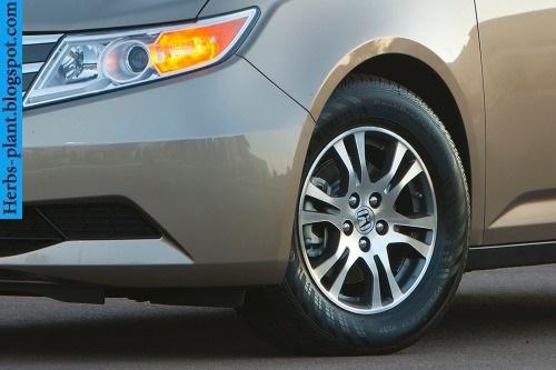 Honda odyssey car 2013 tyres/wheels - صور اطارات سيارة هوندا اوديسي 2013