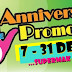 5TH ANNIVERSARY PROMOTION !!