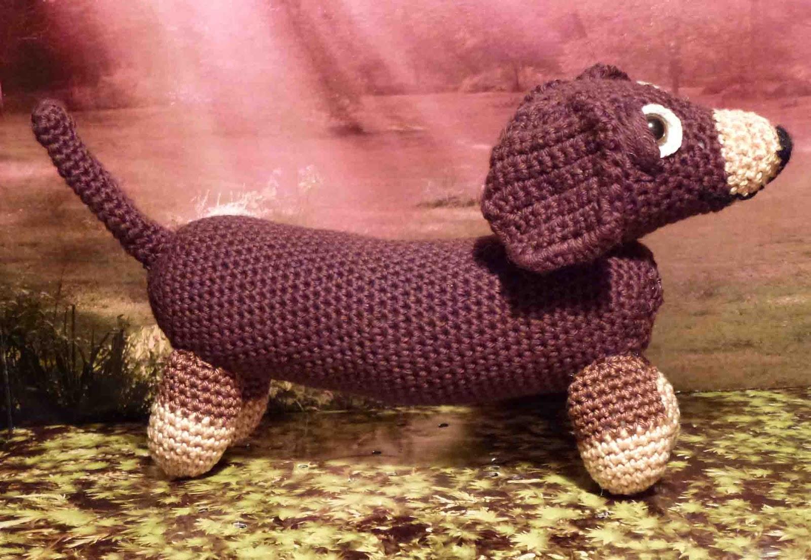 Tuppies Welt: Amigurumi-Dackel (Wiener-Dog)