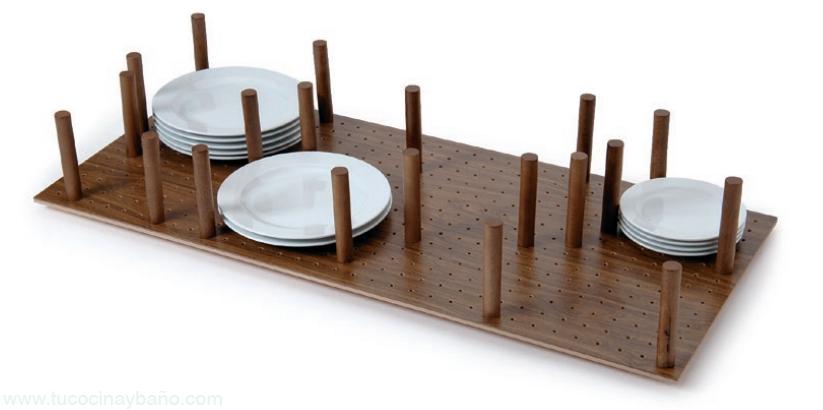 base madera palo gavetero cocina