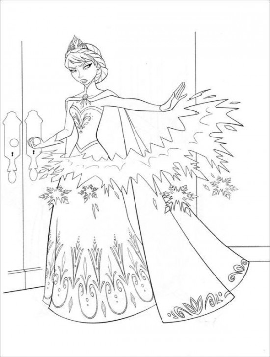 frozen free online coloring pages - photo#21
