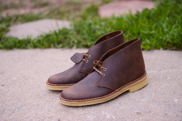 CDBs chukkas brown boots