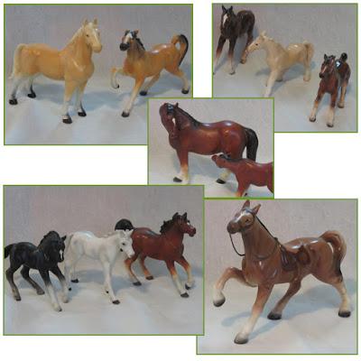 Kate's china horses