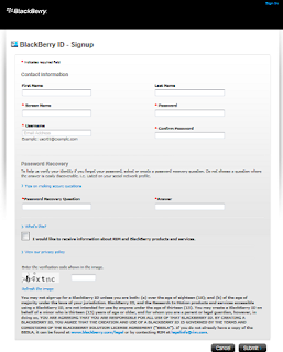 bbm android,daftar Blackberry ID