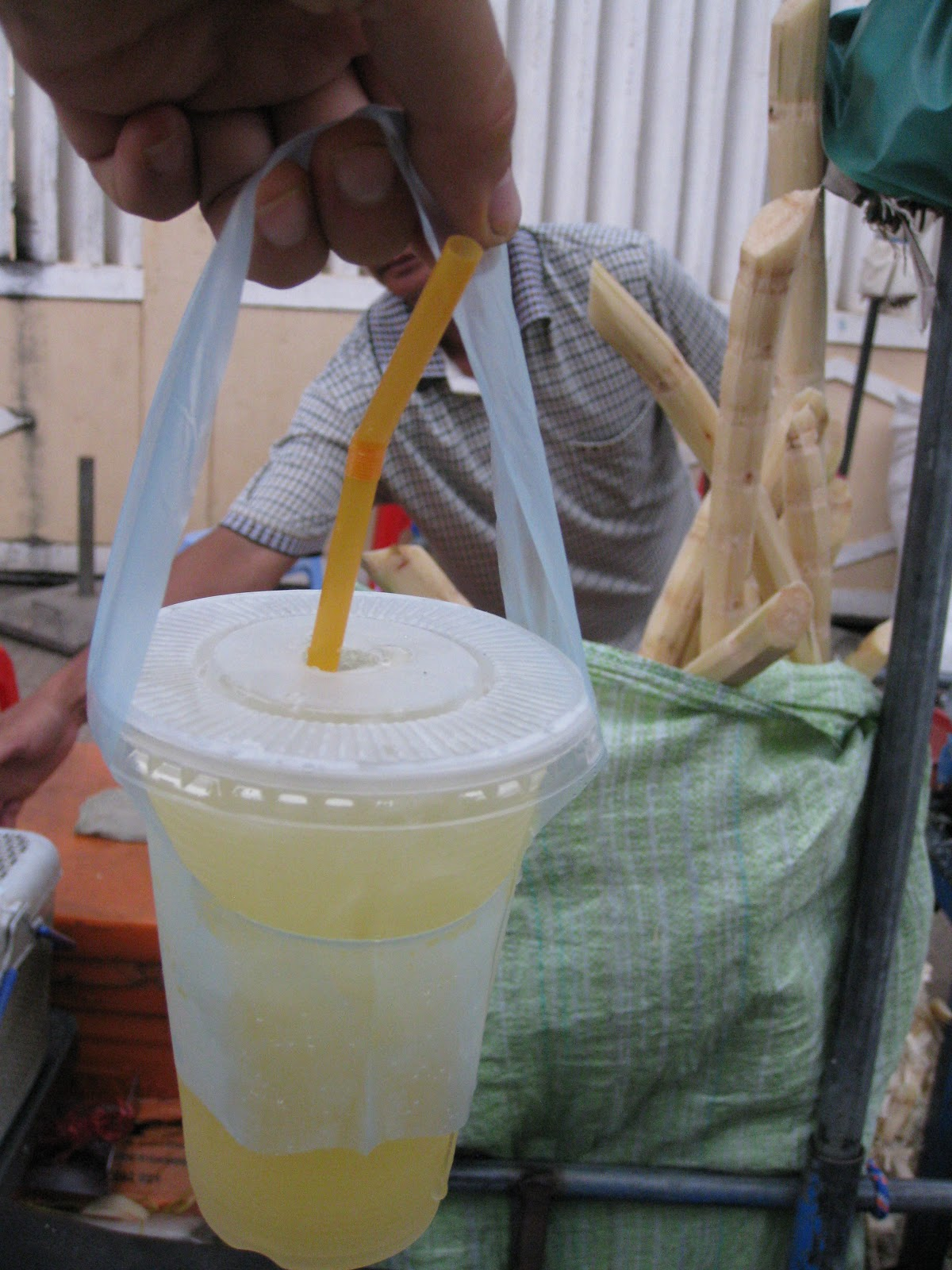 how to eat sugar cane