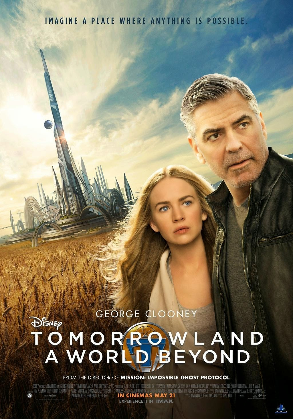 TOMORROWLAND: New Trailers and 9 Posters | The ...