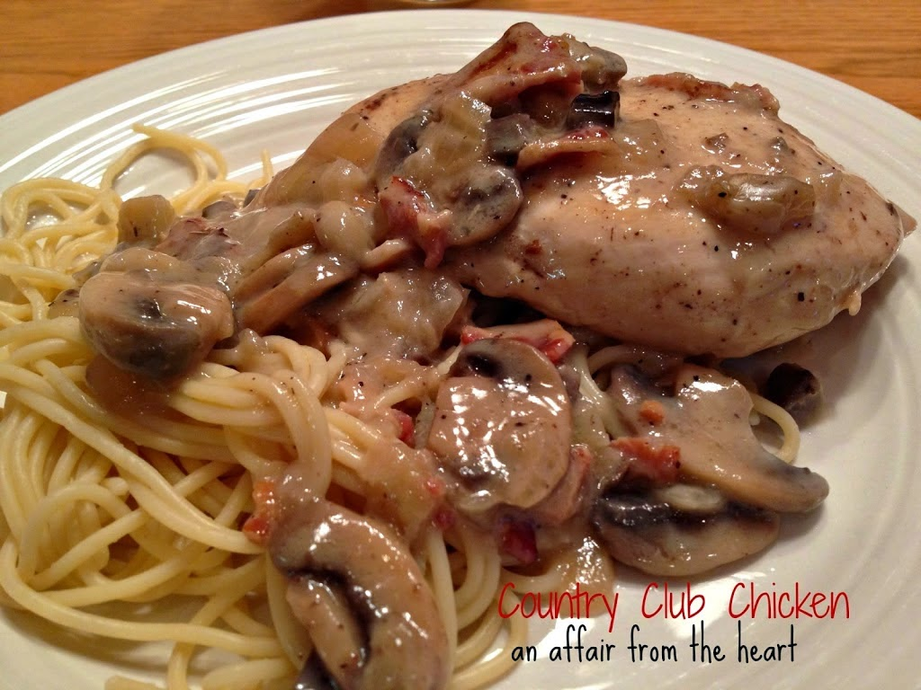 Country Club Chicken & Pasta