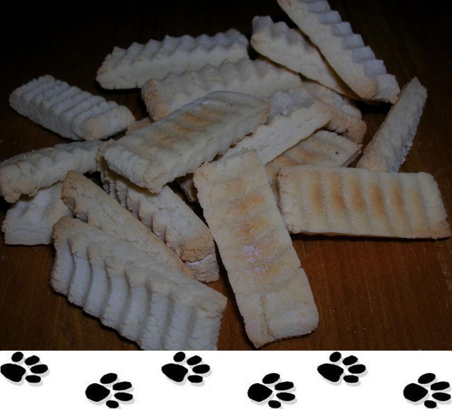 biscotti per cani alla pera