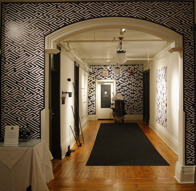 Come Up To My Room 2015, Gladstone Hotel in Toronto, CUTMR, culture, event, installations, art, artmatters, design, interior, Ontario, Canada, artists, TODO, IDS, The Purple Scarf, Melanie.Ps, In A Space, curated, carla poirier, black, white