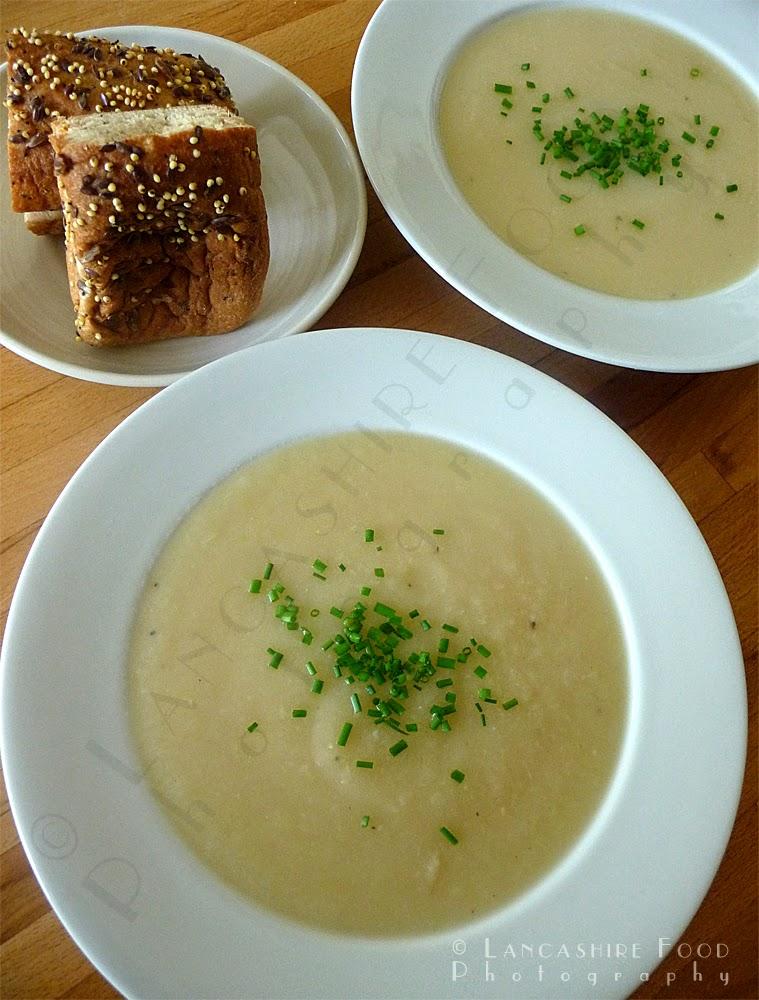 Surprise turnip soup