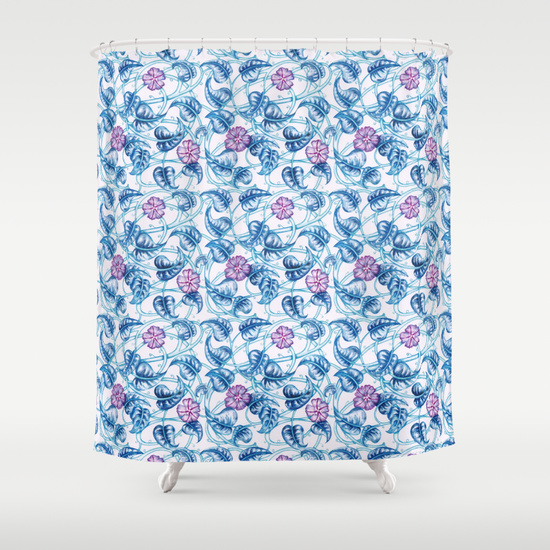 floral_pattern_curtain