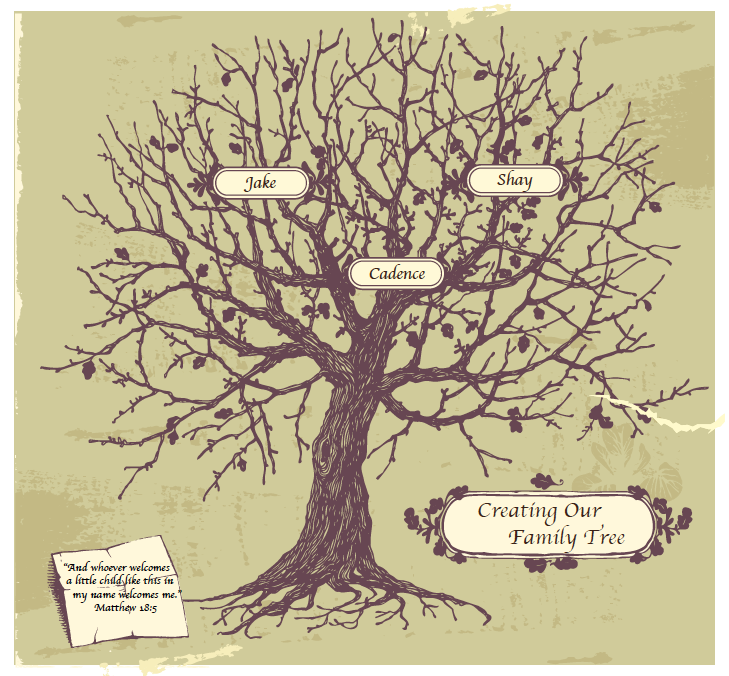 Creating Our Family Tree