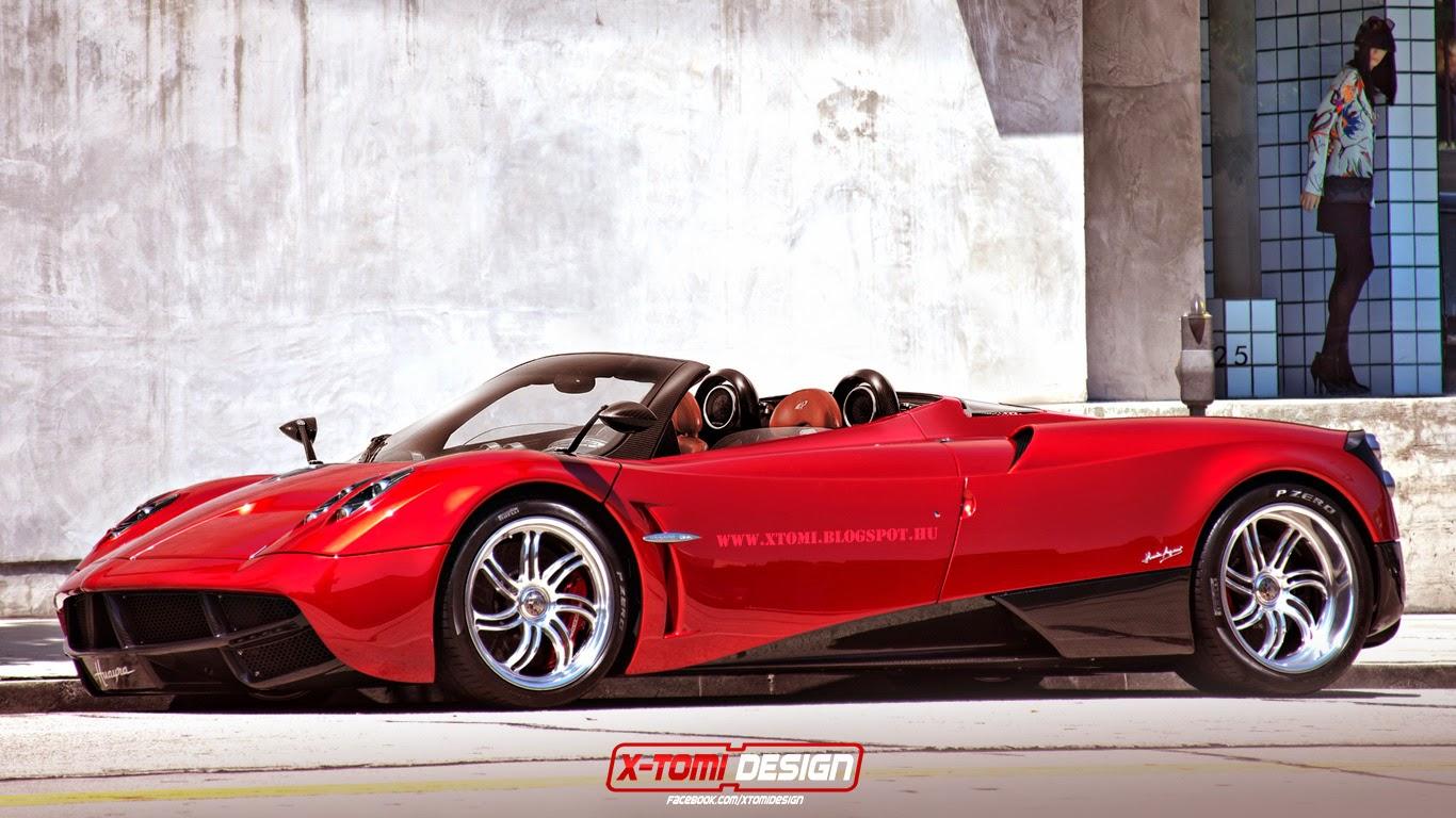 DS pagani huayra roadster : X-Tomi Design: Pagani Huayra Roadster