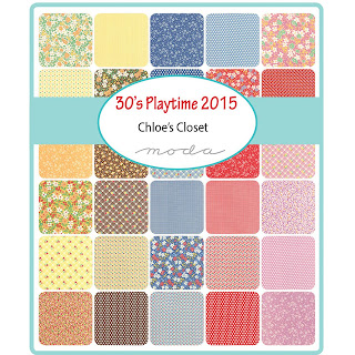 Moda 30's Playtime 2015 Fabric by Chloe's Closet for Moda Fabrics