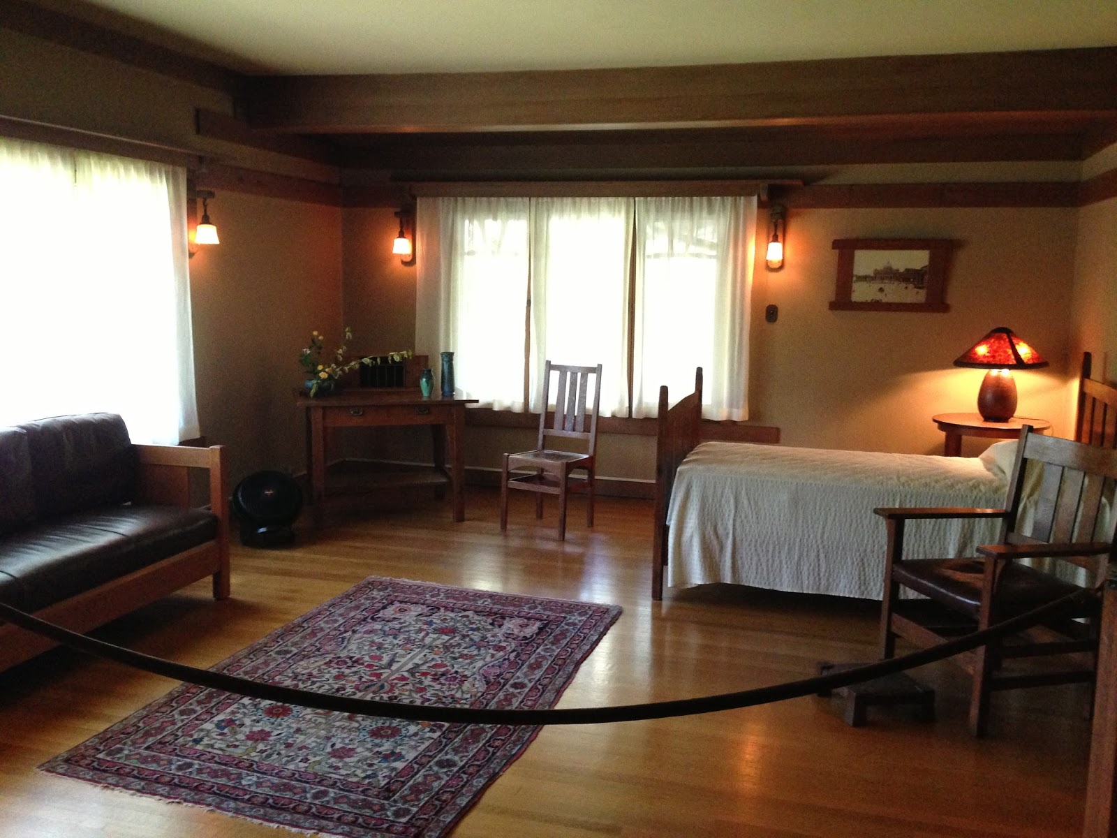 Taking The Gamble House Upstairs Downstairs Tour