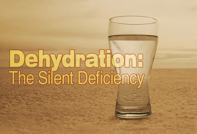 dehydrated, water, water ionizer, signs of dehydration