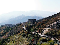 Great Wall of China - View from 7th Tower Badaling