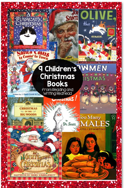 9 Christmas Books for Children from Reading and Writing Redhead