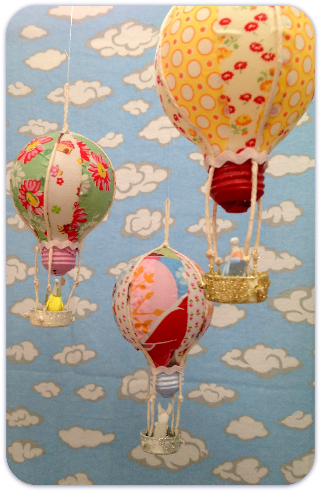 Jennuine By Rook No 17 Repurposed Light Bulb Hot Air Balloon DIY